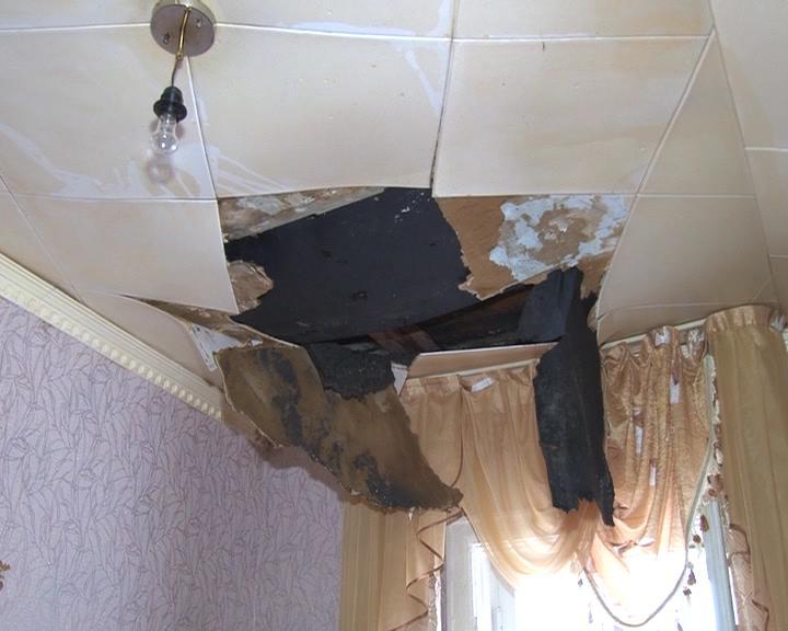 затопление квартиры и соседей снизу